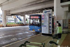 ドンムアン空港 エアポートバス乗り場