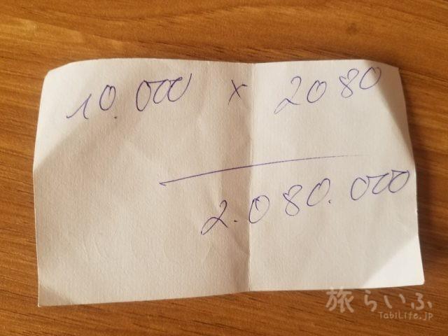 ハノイ Ha Tung通り 両替店 31