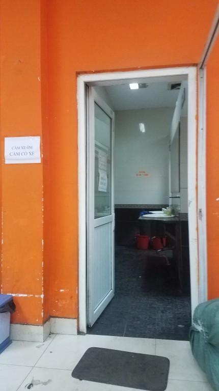 ナムディン行き チケット売り場 トイレ