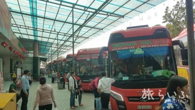 フンチャン社バス休憩所