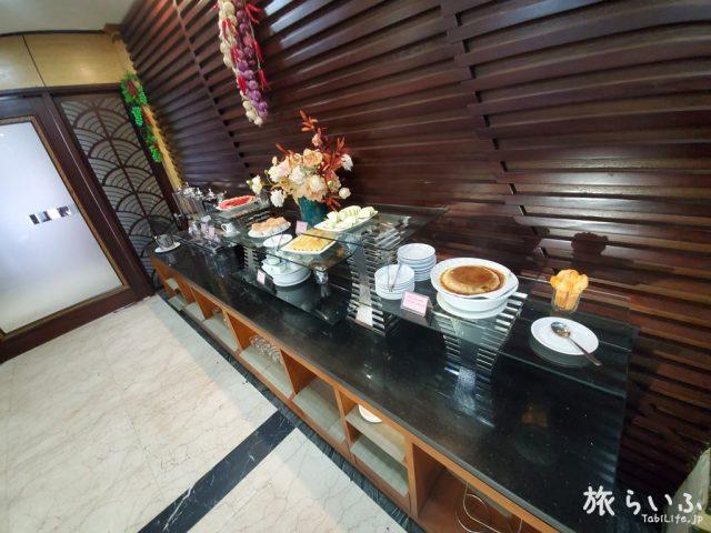 ラオカイスターホテル 朝食