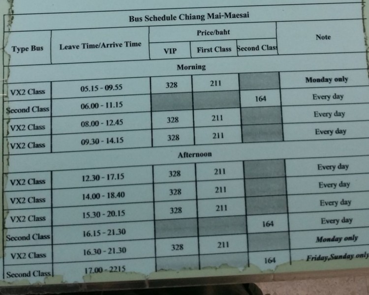 グリーンバス時刻表