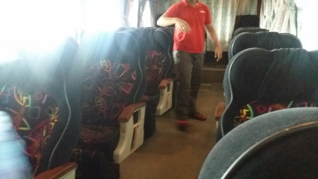 KKKLバスの車内
