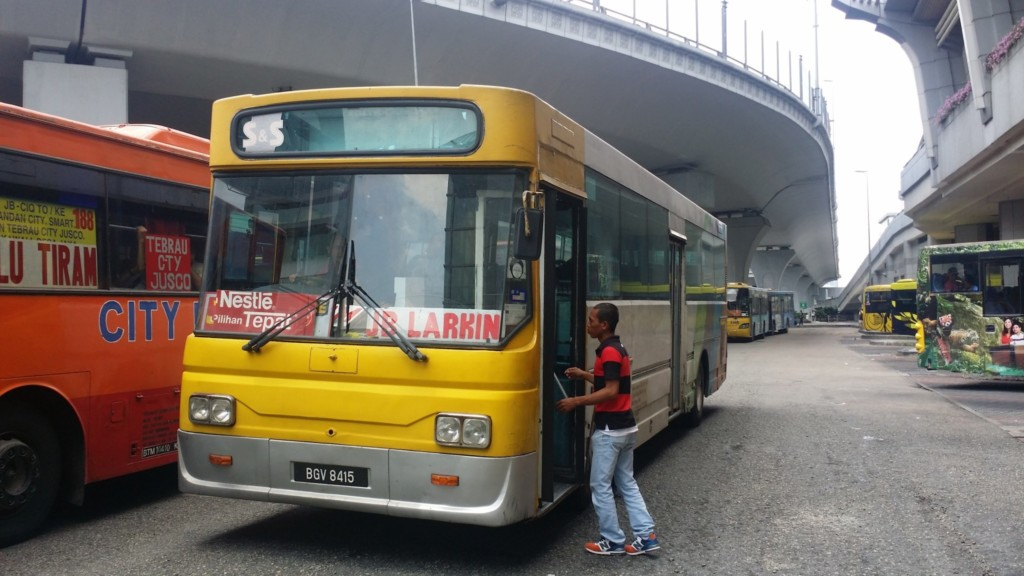 ジョホールバルの市内バス