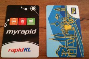 マレーシア 交通カード