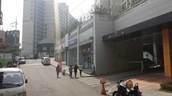 Coin Wash 24 西部駅店(ソウル駅西)入り口