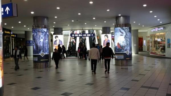 ソウル駅1番出口付近